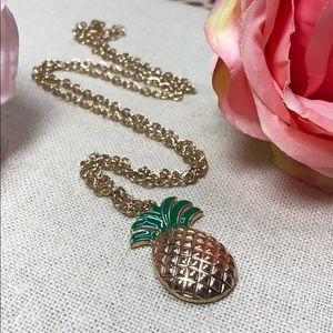 Jewelry - 🍍 NEW Pineapple preppy layering Pendant Necklace